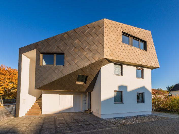 Dachaufstockung für ein Architekturbüro