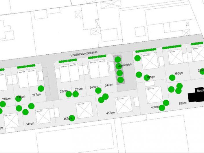 Städtebauliche Planung einer Wohnbebauung, Lorsch